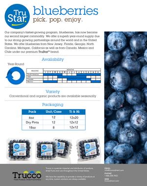 Trucco Blueberries Spec Sheet